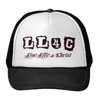 Live life for Christ Christian saying Hat
