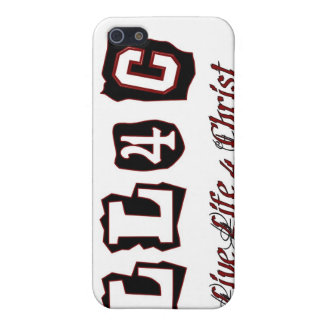 Live life for Christ Christian saying Cases For iPhone 5