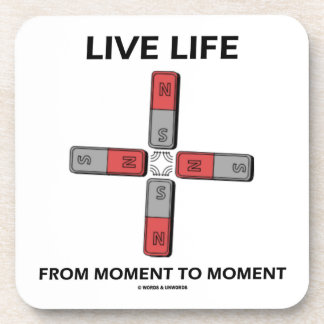 Live Life From Moment To Moment (Quadrupole) Coasters