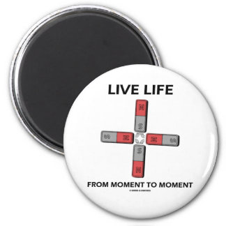 Live Life From Moment To Moment (Quadrupole) Magnets
