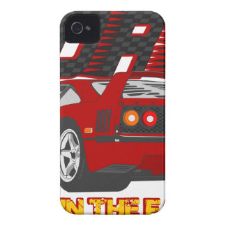 LIVE_LIFE_IN_THE_FAST_LANE: forty iPhone 4 Case-Mate Case
