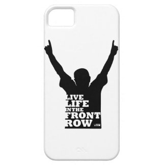 LIVE LIFE IN THE FRONT ROW PHONE CASE