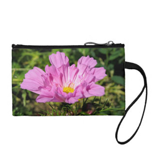 'Live Life in the Garden' Flower Coin Purse