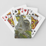 "Live Life Like a Sloth Playing Cards<br><div class=""desc"">Sloths know how to take their time in life.</div>"