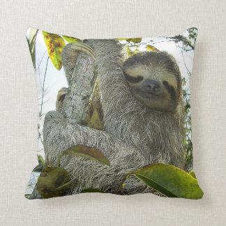 Live Life Like a Sloth Throw Pillow