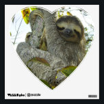 """Live Life Like a Sloth Wall Sticker<br><div class=""""desc"""">Sloths know how to take their time in life.</div>"""