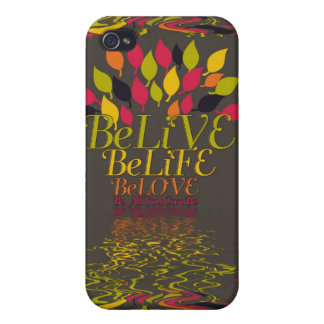 LiVE LiFE LOVE Daily Inspirational  iPhone iPhone 4/4S Case