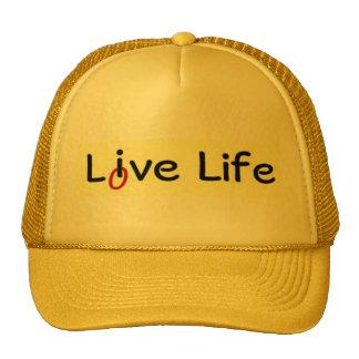 Live Life Love Life Trucker Hats