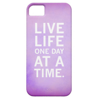 Live Life One Day At A Time Phone Case