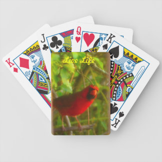 Live Life Playing Cards