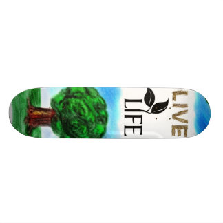 Live Life Skateboard