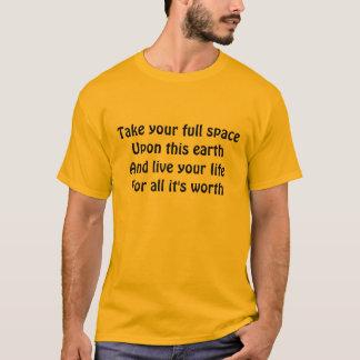 Live life t-shirts