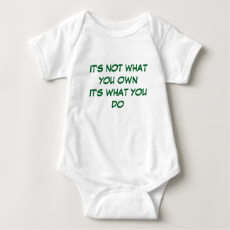 Live Life To The Full Baby Bodysuit