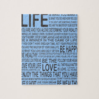 Live Life to the Fullest Puzzle