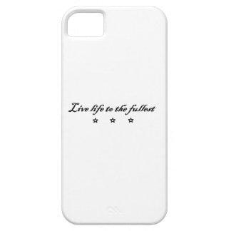 live life ton the fullest iPhone SE/5/5s case