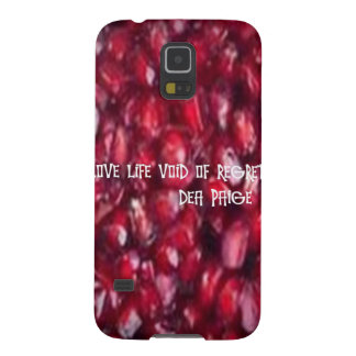 LIVE LIFE VOID OF REGRET GALAXY S5 CASES