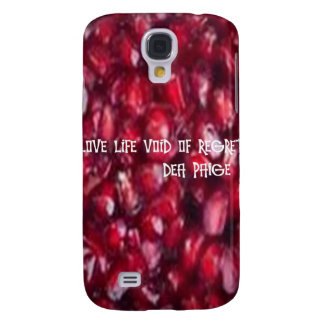 LIVE LIFE VOID OF REGRET SAMSUNG GALAXY S4 COVERS