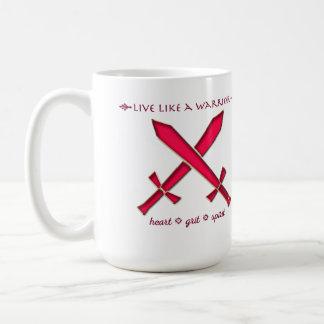 Live like a warrior mug