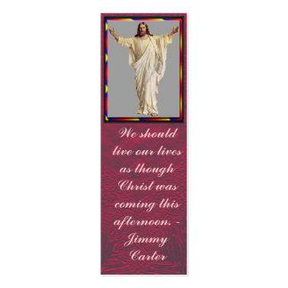 Live Like Christ Mini Business Card