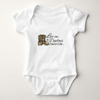 Live like he Deploys Tomorrow Baby Bodysuit