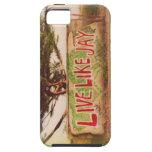 Live like jay funda para iPhone SE/5/5s