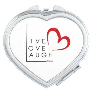 Live.Live.Laugh Espejo Compacto