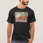 Live Lobster - Vintage Food Crate Label T-Shirt