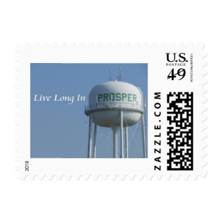 Live Long in Prosper (Texas) Photo Stamps