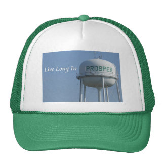 Live Long in Prosper (TX) clothing Trucker Hat