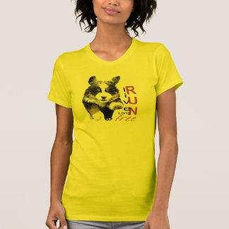 Live Long, Run Free Puppy t-shirt