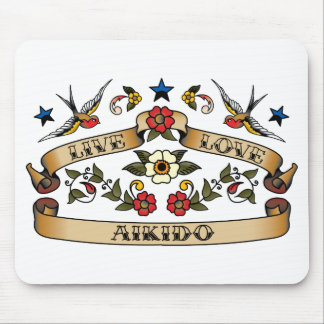 Live Love Aikido Mouse Mats