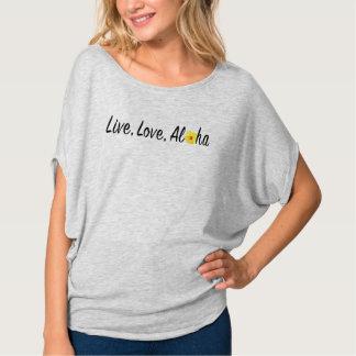 Live, Love, Aloha Flowy Top