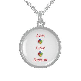 Live ~ Love ~ Autism Pendants