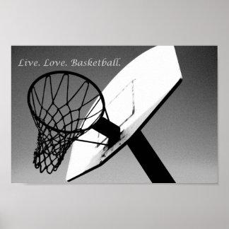 Live.Love.Basketball Poster