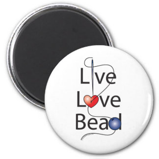 Live Love Bead Magnet