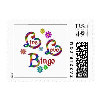Live Love Bingo Postage
