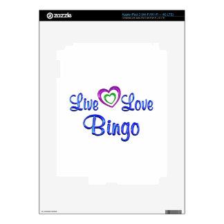 Live Love Bingo Skins For iPad 3