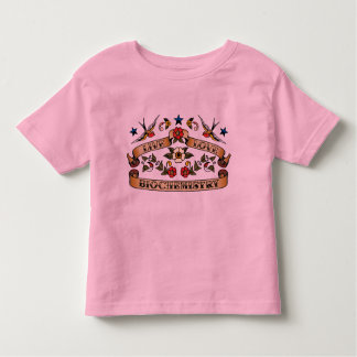 Live Love Biochemistry Toddler T-shirt