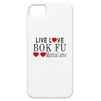 LIVE LOVE BOK FU MARTIAL ARTS iPhone SE/5/5s CASE