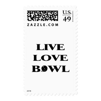 Live Love Bowl Stamps