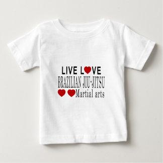 LIVE LOVE BRAZILIAN JIU-JITSU MARTIAL ARTS BABY T-Shirt