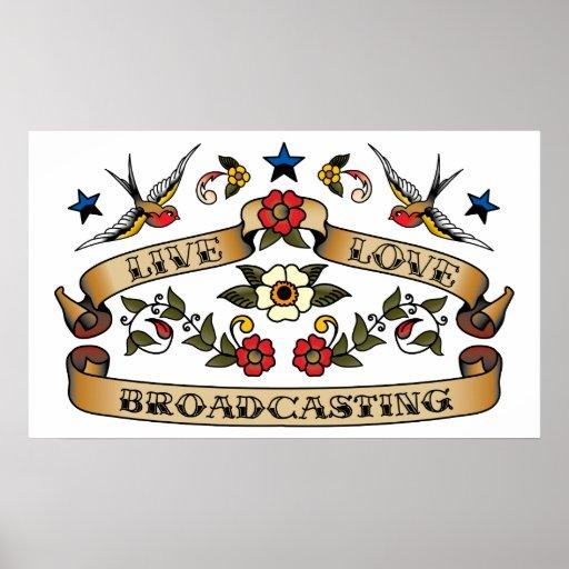 Live Love Broadcasting Poster