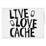 Live, Love, Cache Card
