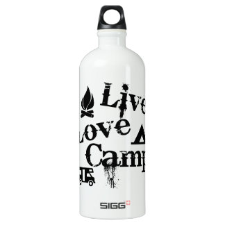 Live, Love, Camp Water Bottle