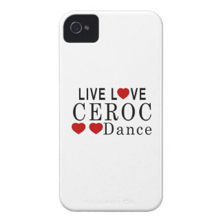LIVE LOVE CEROC DANCE iPhone 4 COVER