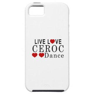 LIVE LOVE CEROC DANCE iPhone SE/5/5s CASE
