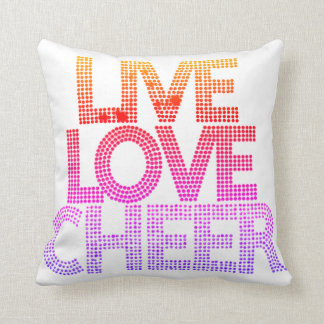 Live Love Cheer - Pillow