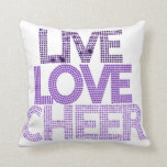Live Love Cheer - Pillow
