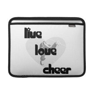 Live Love Cheer Sleeves For MacBook Air