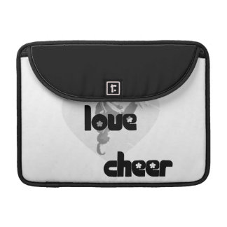 Live Love Cheer Sleeves For MacBook Pro
